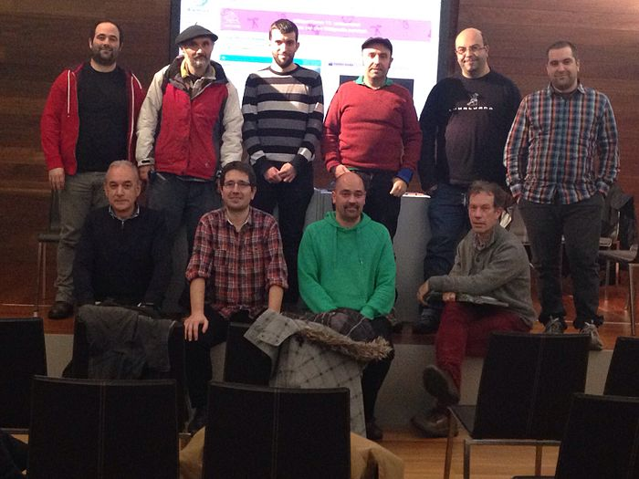 Basque Wikimedians meeting. 2016/01/15